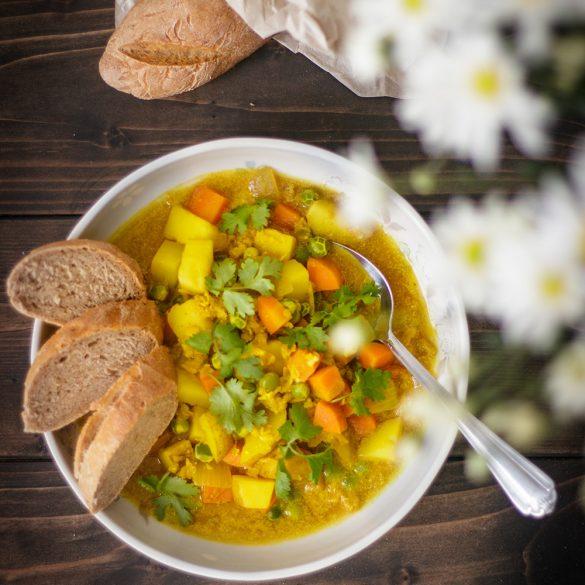 cà ri đậu lăng