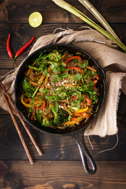 Miến Xao Rau Củ Kiểu Thai Ducan Kitchen